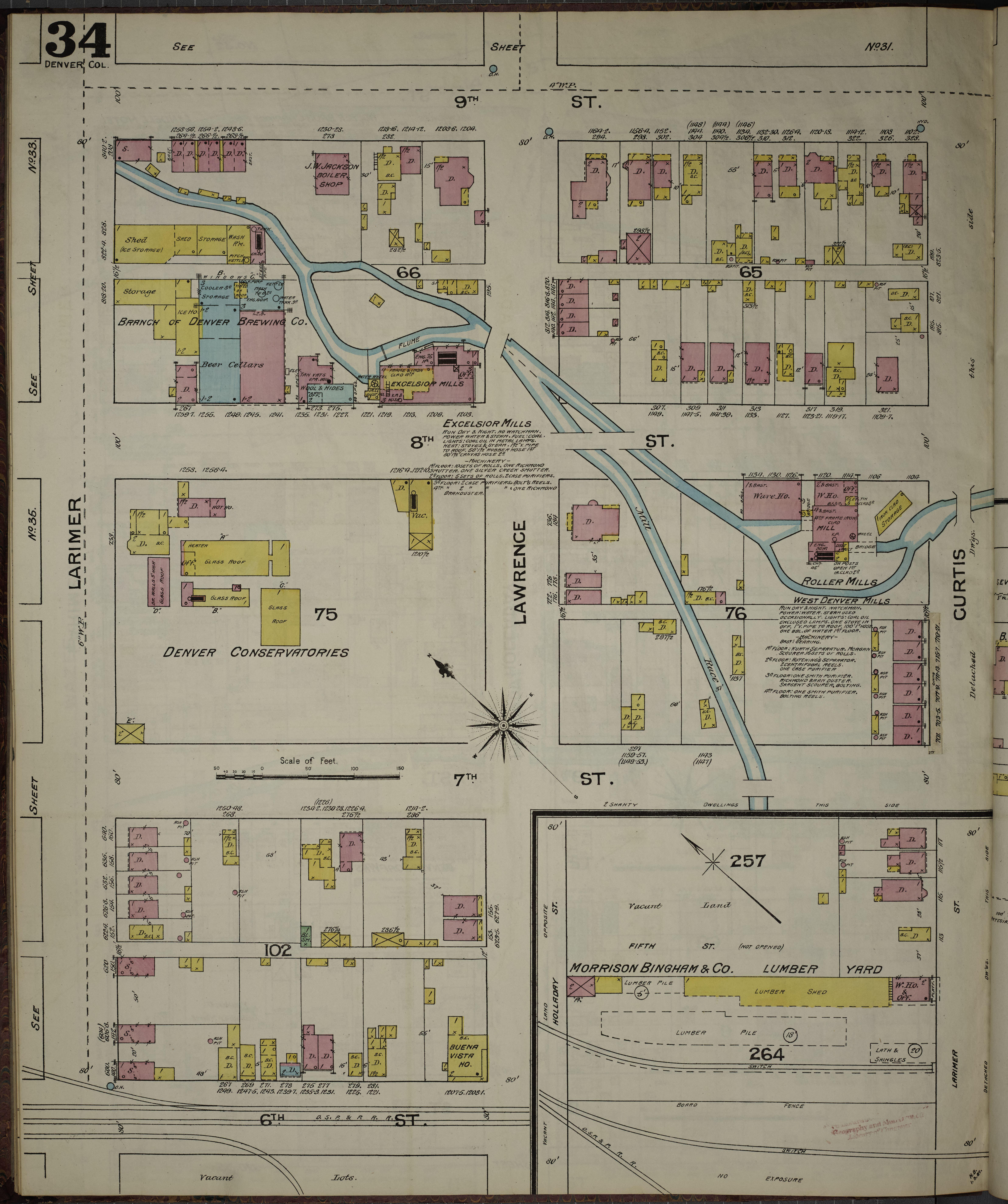 File:Sanborn Fire Insurance Map from Denver, Denver County, Colorado on
