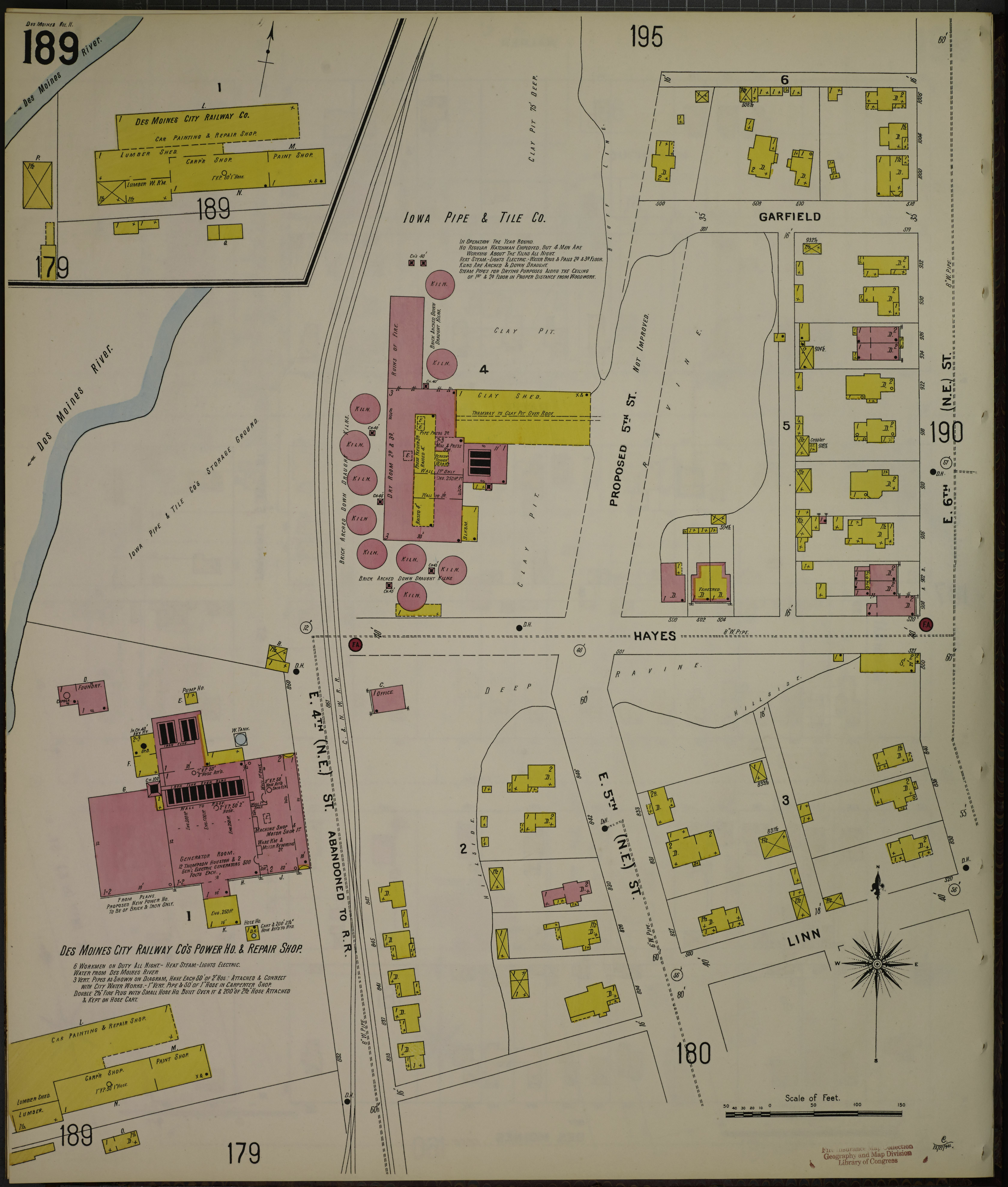 File:Sanborn Fire Insurance Map from Des Moines, Polk County ...