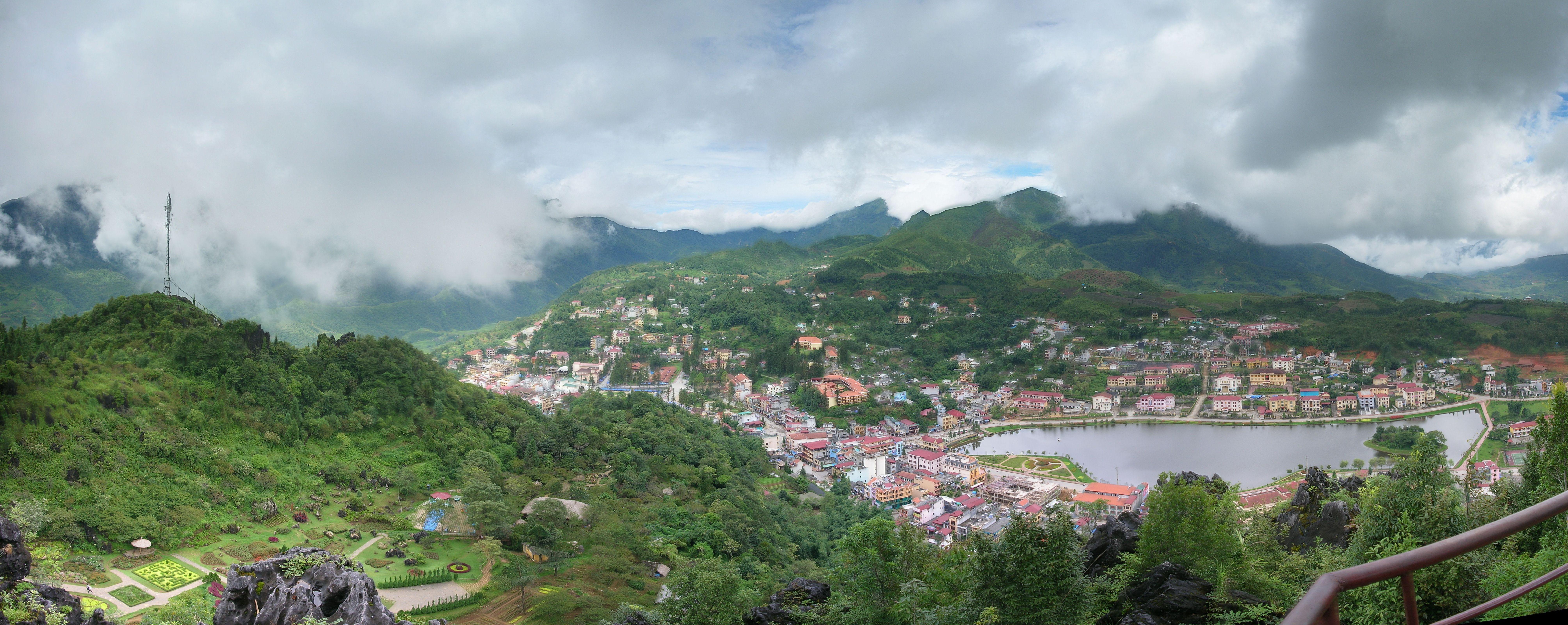 Tập tin:Sapa vu du mont Ham Rong.jpg