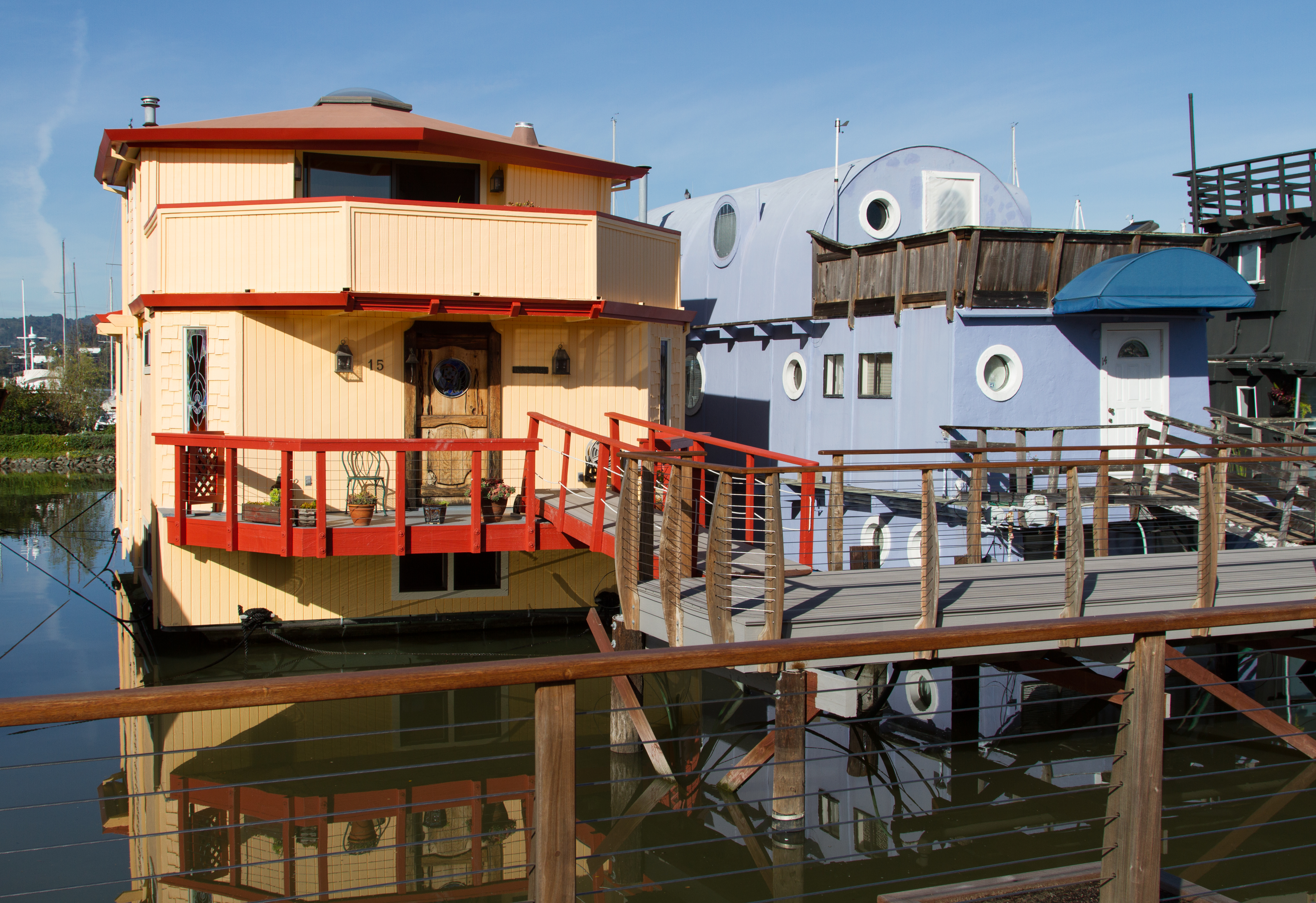 File Sausalito Houseboat Community 005 Jpg