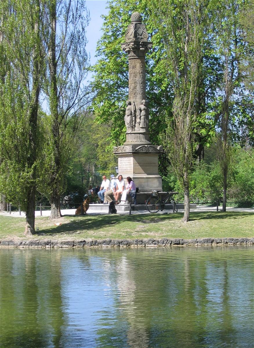 File:Sckell-Denkmal Englischer Garten Muenchen-1.jpg - Wikimedia Commons