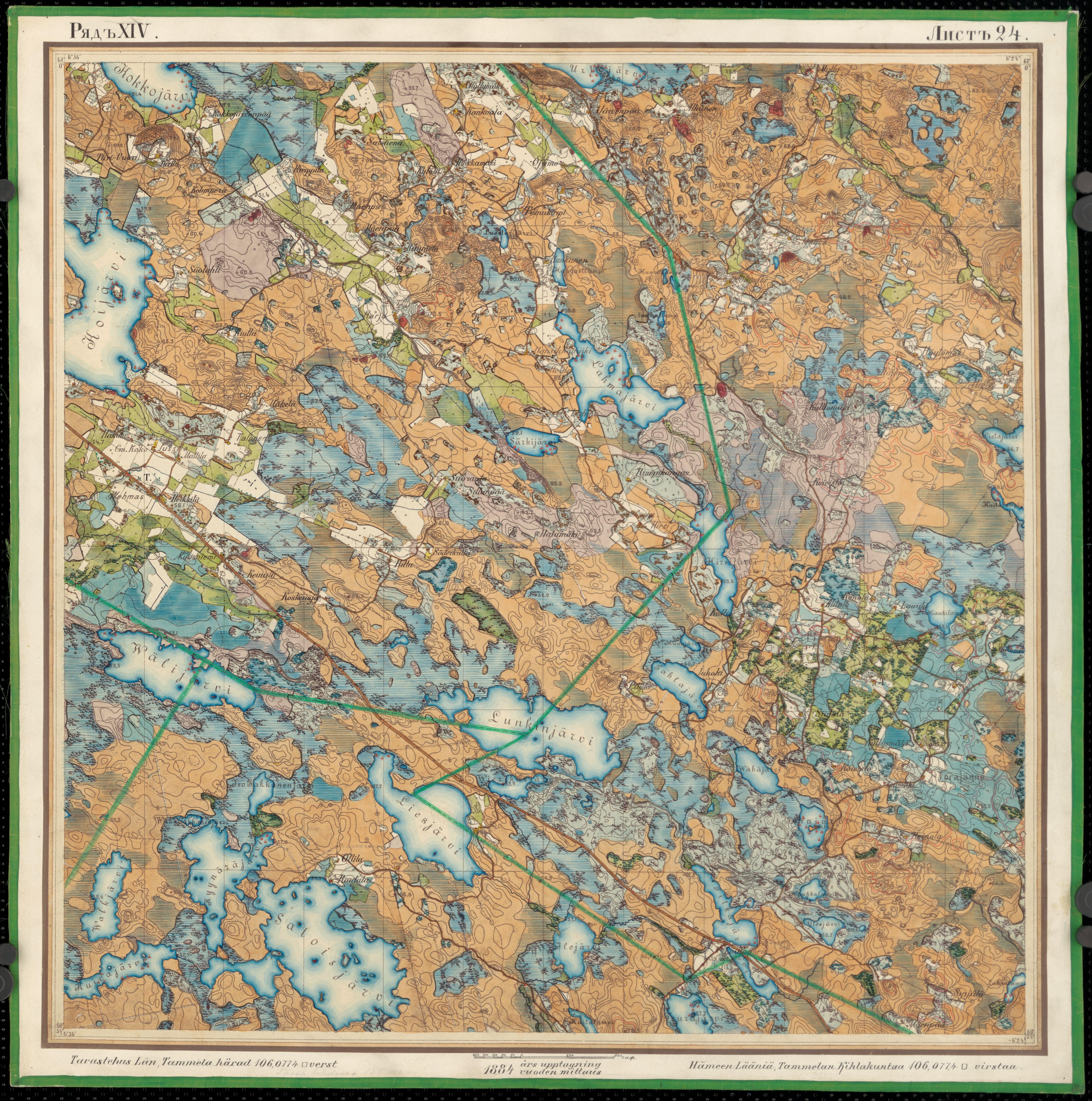File Senate Atlas 1870 1907 Sheet Xiv 24 Urjala Jpg Wikimedia