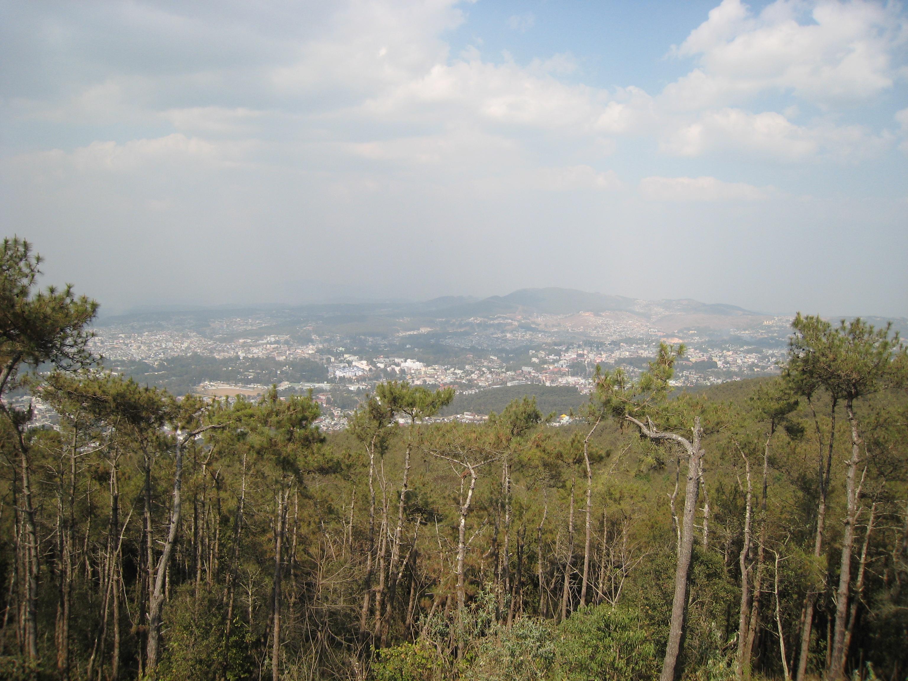 Shillong Landscape from Shillong Peak