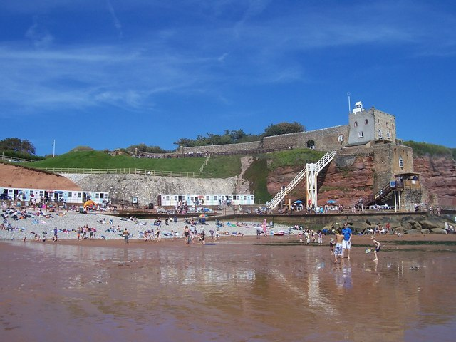 Sidmouth , Jacob's Ladder and Sidmouth Seafront - geograph.org.uk - 1160500