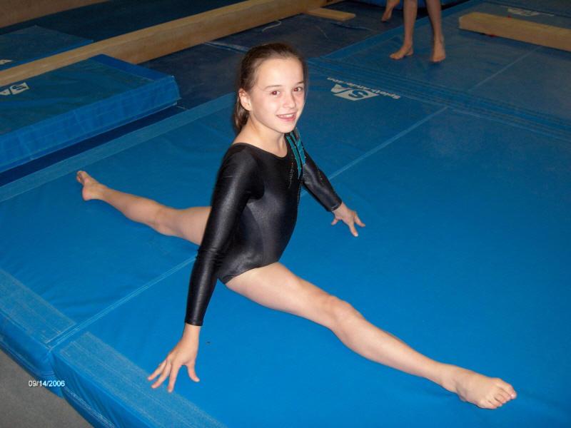 Картинка гимнастка