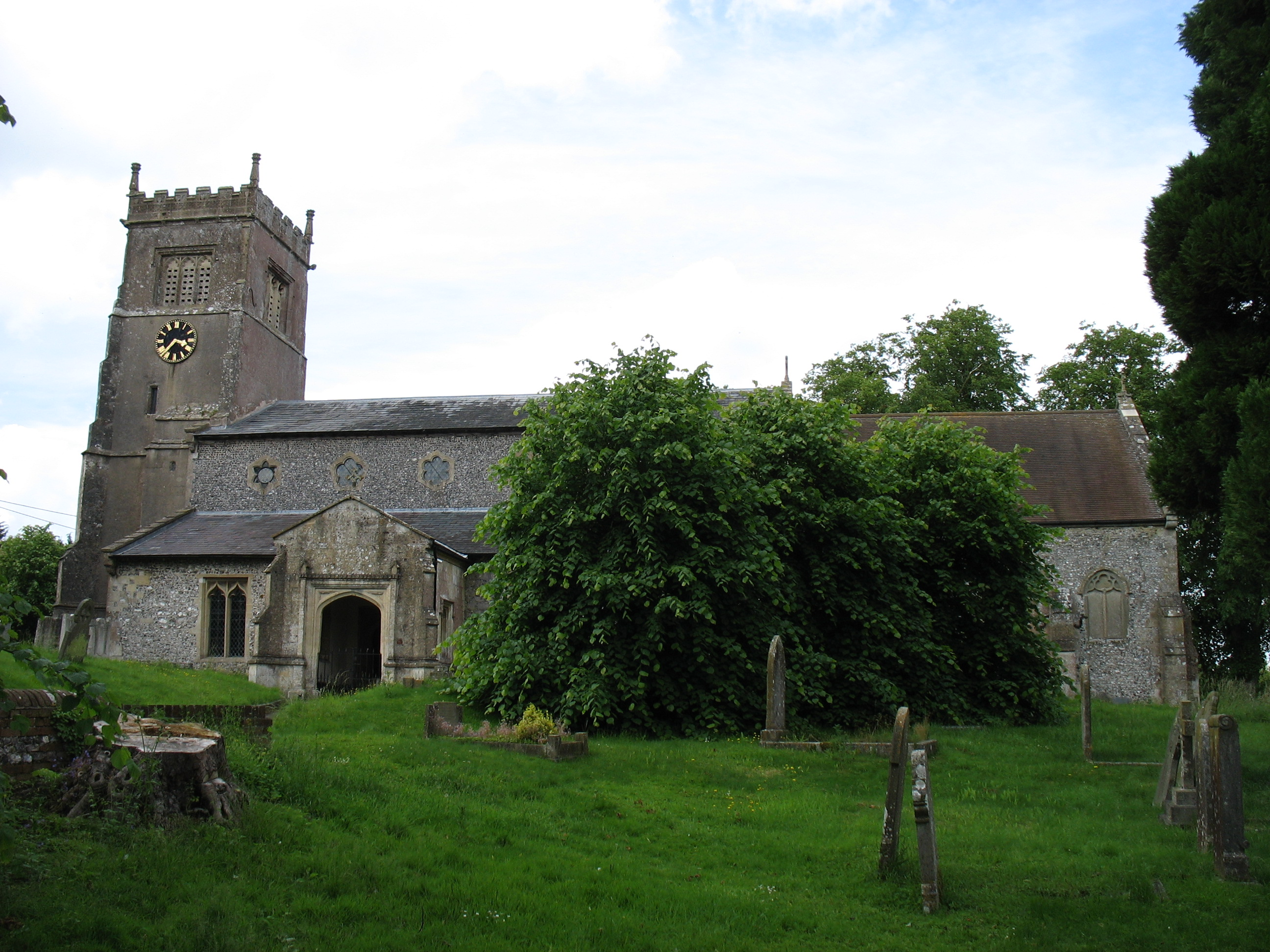 File:St Marys church, Collingbourne Kingston (geograph ...
