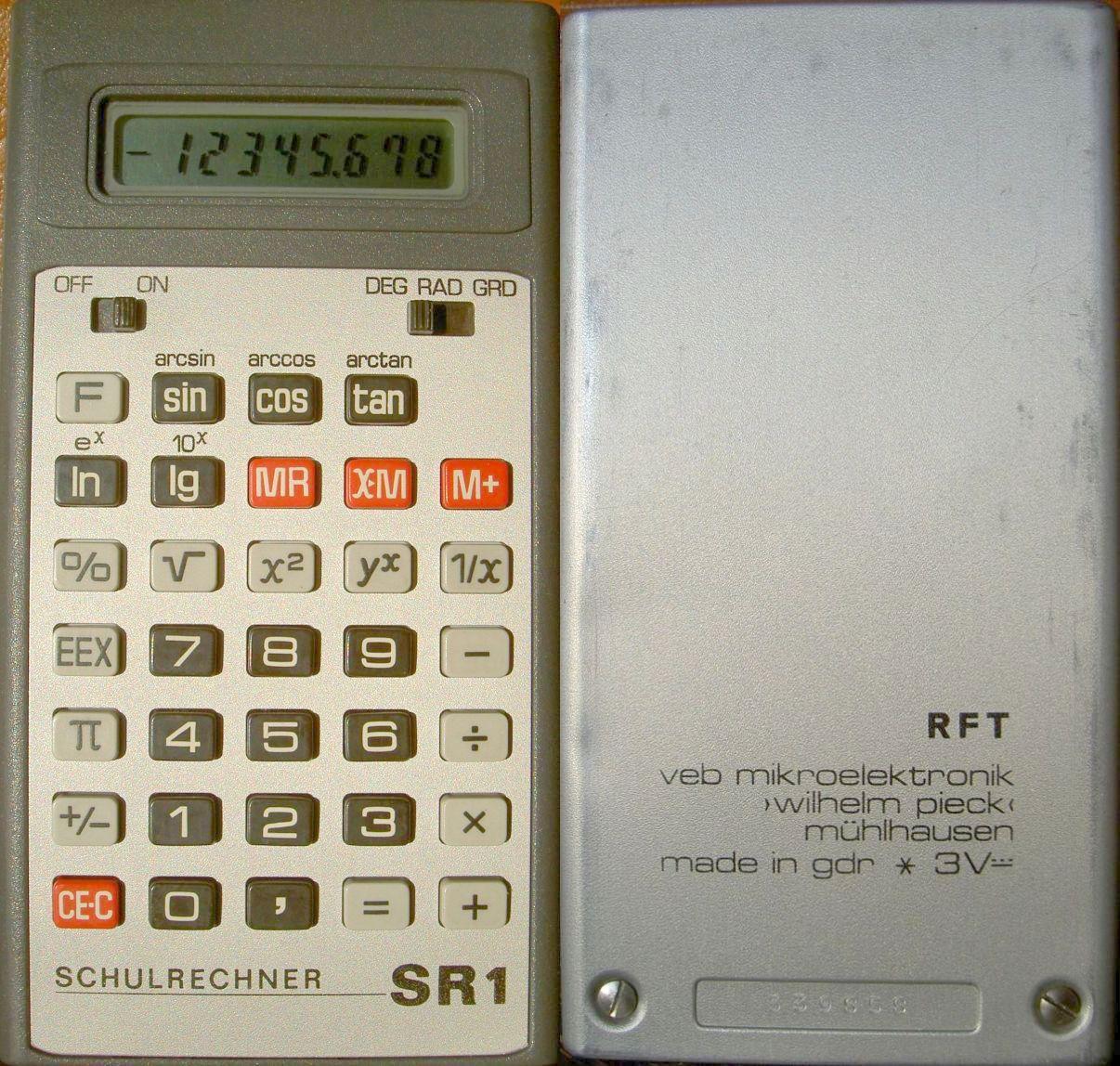 Taschenrechner_Calculator_VEB_Mikroelekt