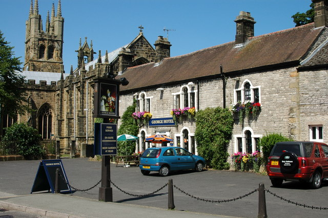 The George Hotel, Tideswell, Derbyshire (geograph 768206)
