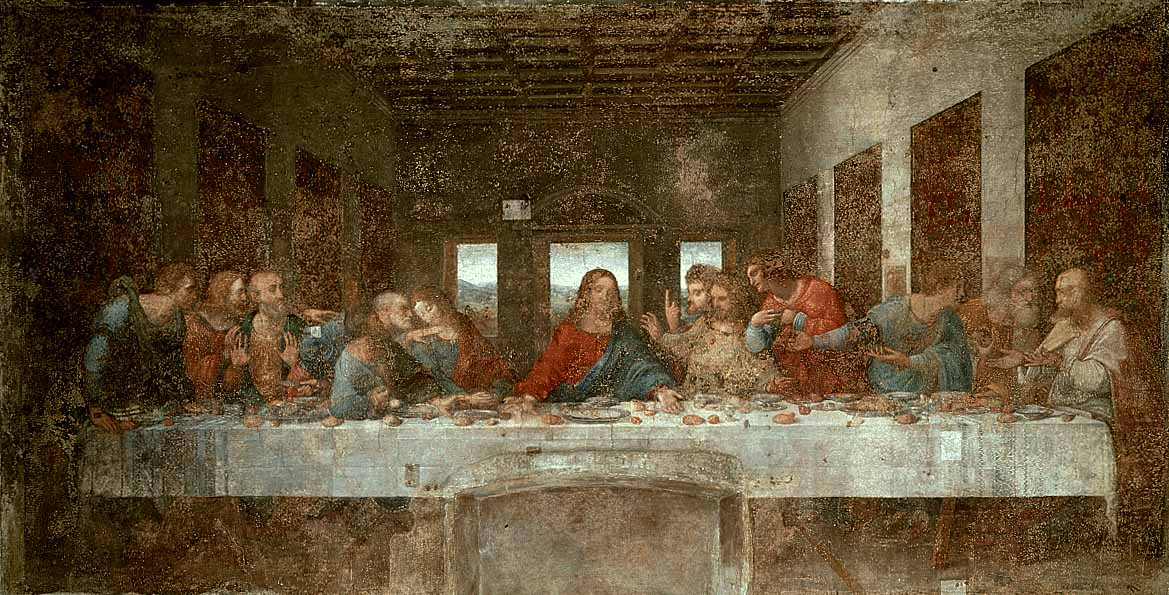 Some believe the number 13 is unlucky because there were 13 people at the Last Supper.