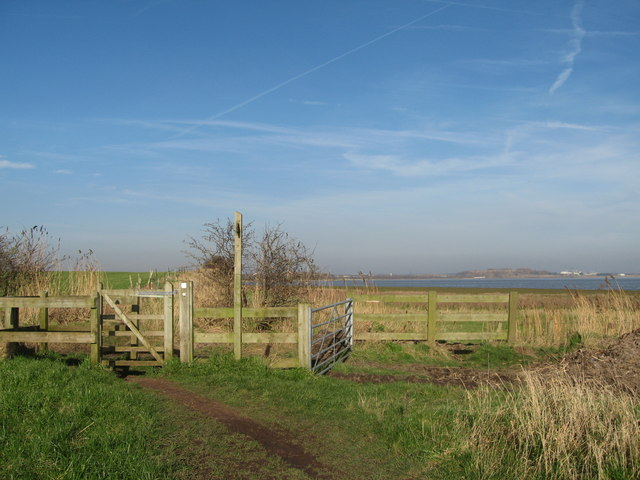 The Mersey Way at Hale - geograph.org.uk - 683780
