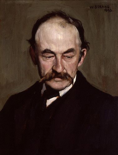 Thomas Hardy by William Strang 1893