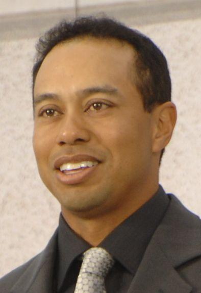Tiger Woods Größe