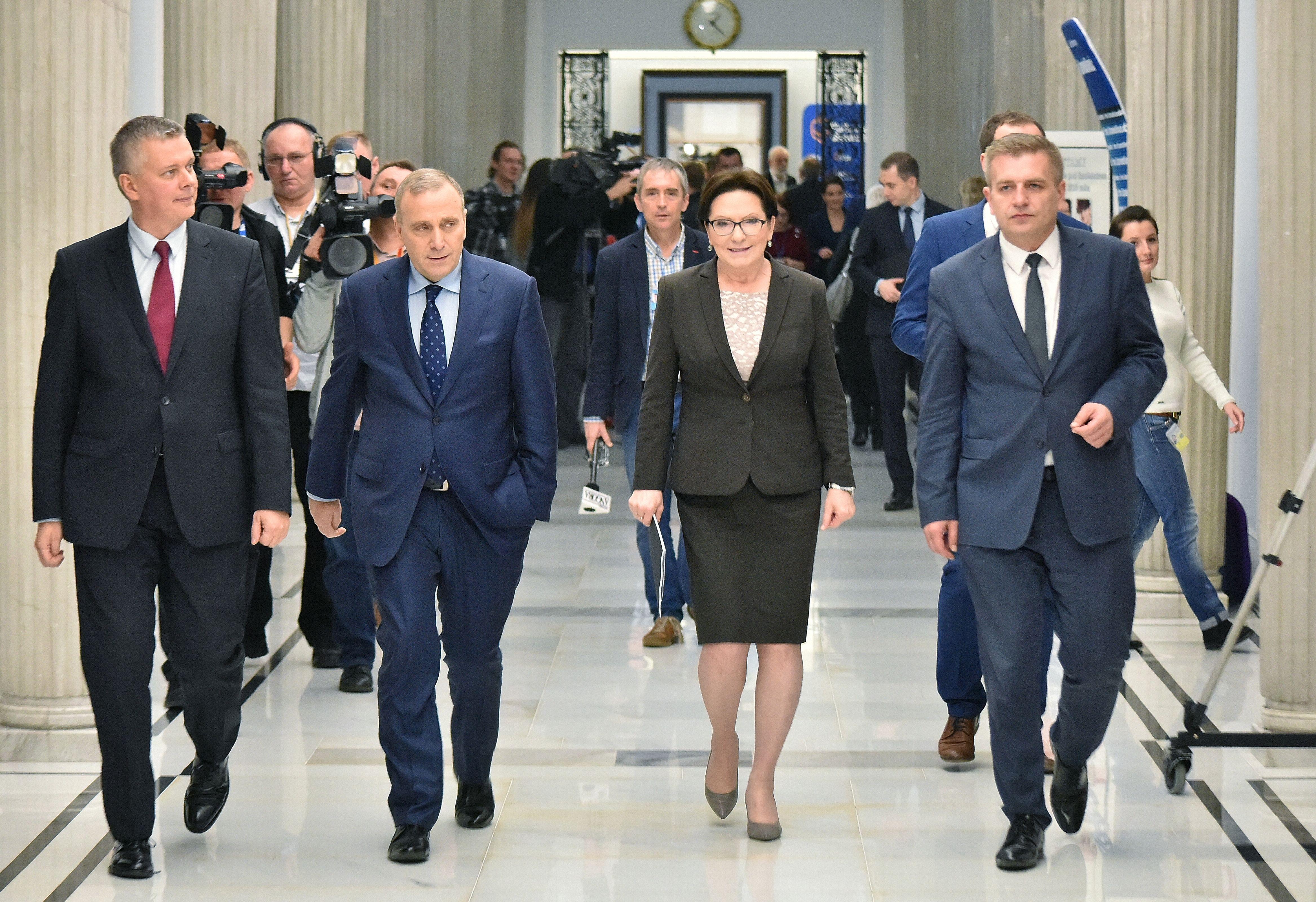Rada Warszawy za Skwerem Władysława Bartoszewskiego na Woli