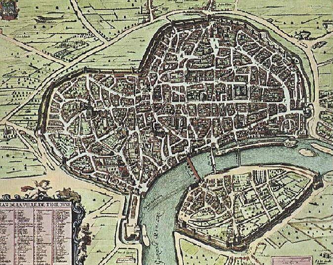 Toulouse Karte.File Toulouse Karte 1631 Jpg Wikimedia Commons