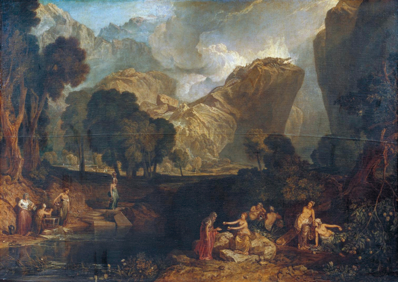 File:Turner, Joseph Mallord William - The Goddess of ...