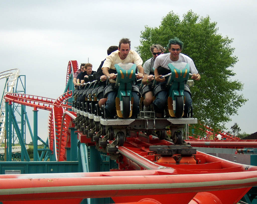 motorbike roller coaster