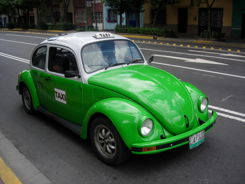 Folium: Mexico City is Phasing Out the Iconic VW Taxis : The LEAF Project