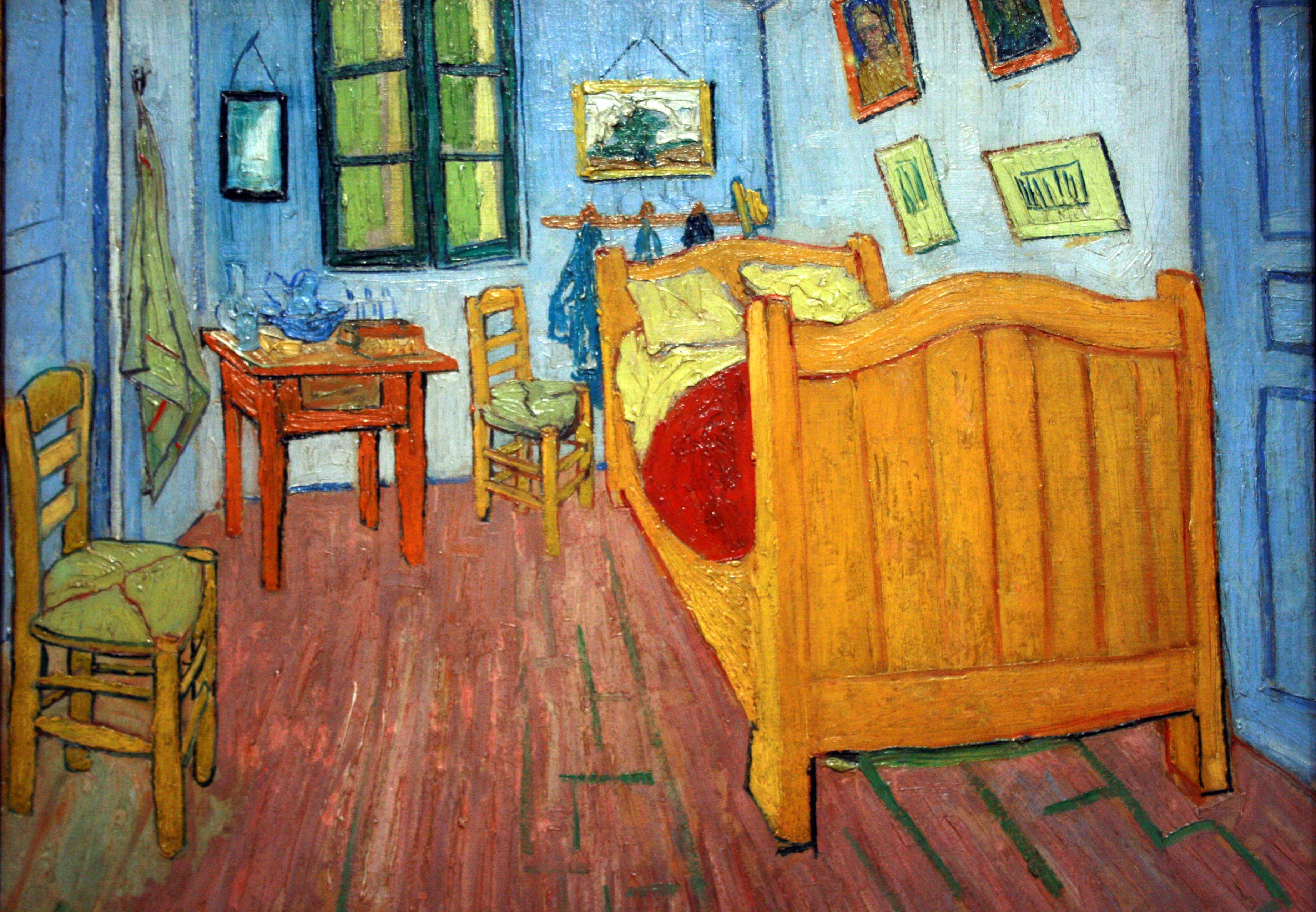 File wlanl techdiva 1 0 de slaapkamer vincent van gogh 1888 1 jpg - Schilderij in de kamer ...