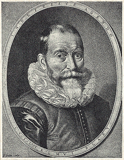 Willem Janszoon Blaeu by [[Jeremias Falck]]