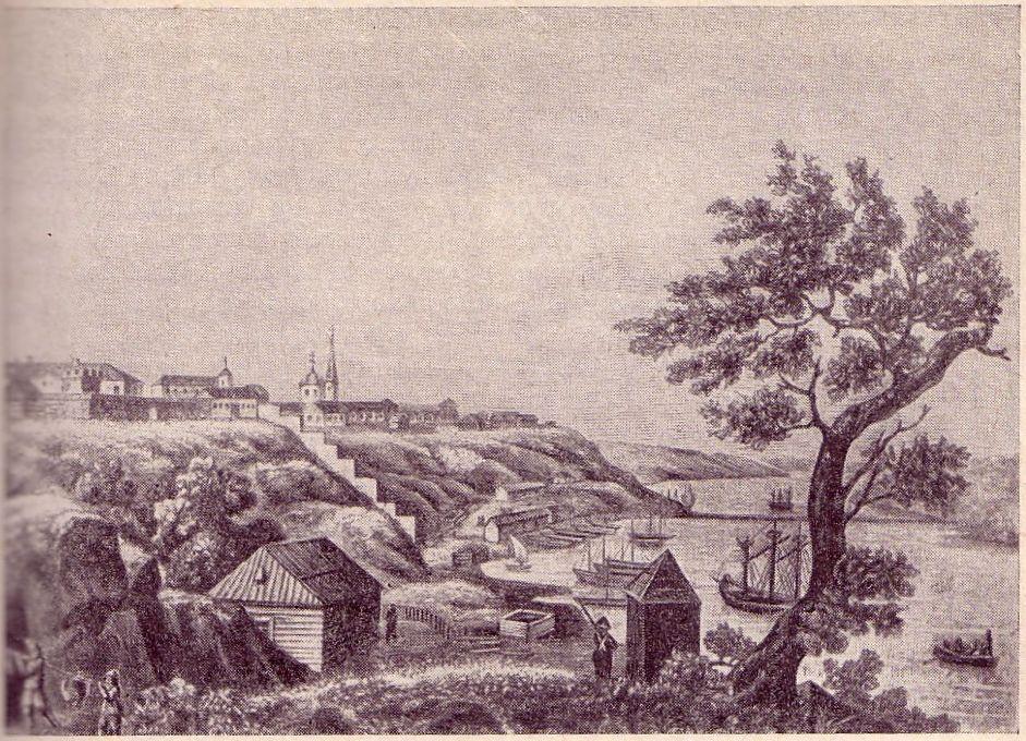Вид Николаева, конец XVIII века