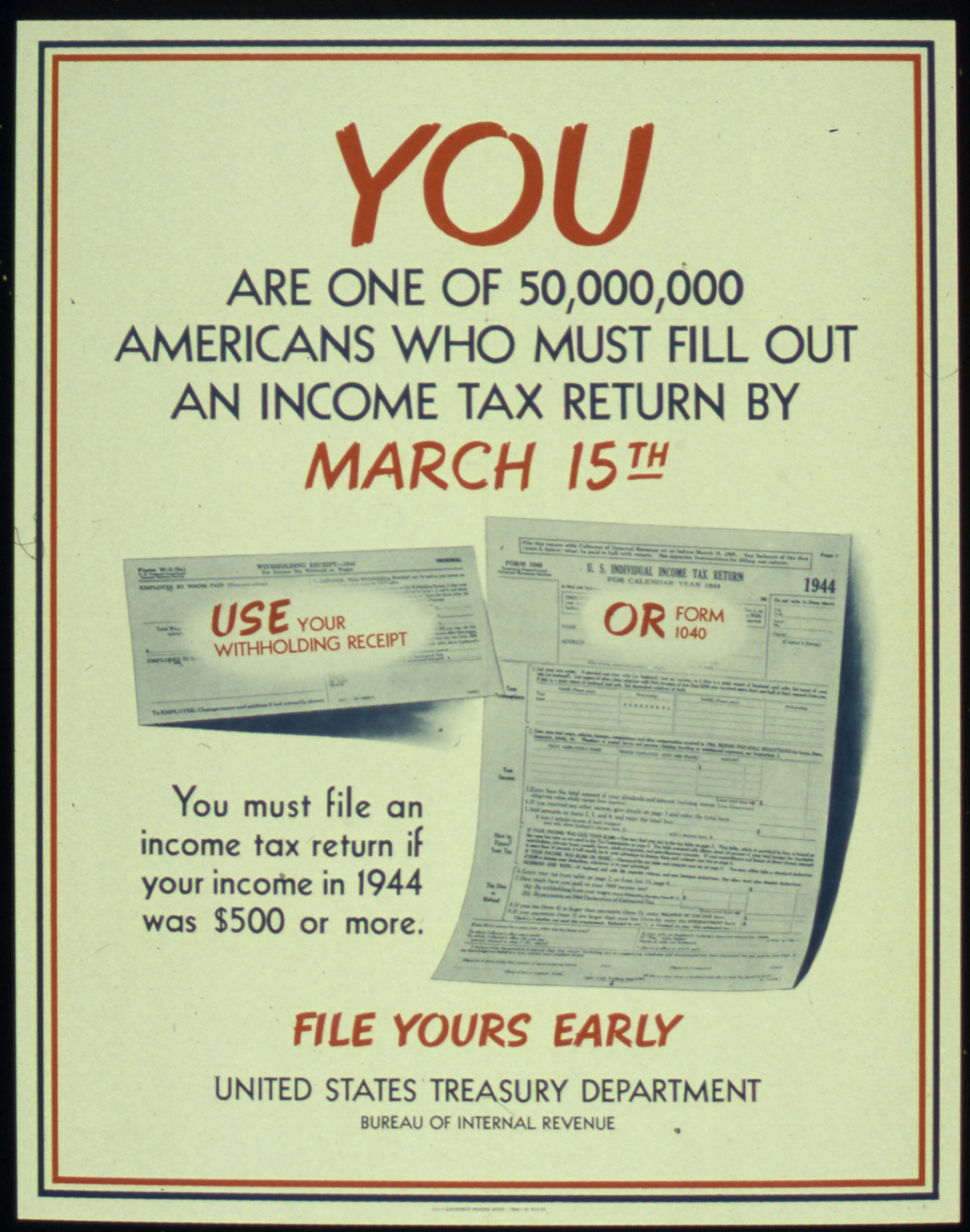 Fileyou are one of 50000000 americans who must fill out an fileyou are one of 50000000 americans who must fill out an income tax return falaconquin
