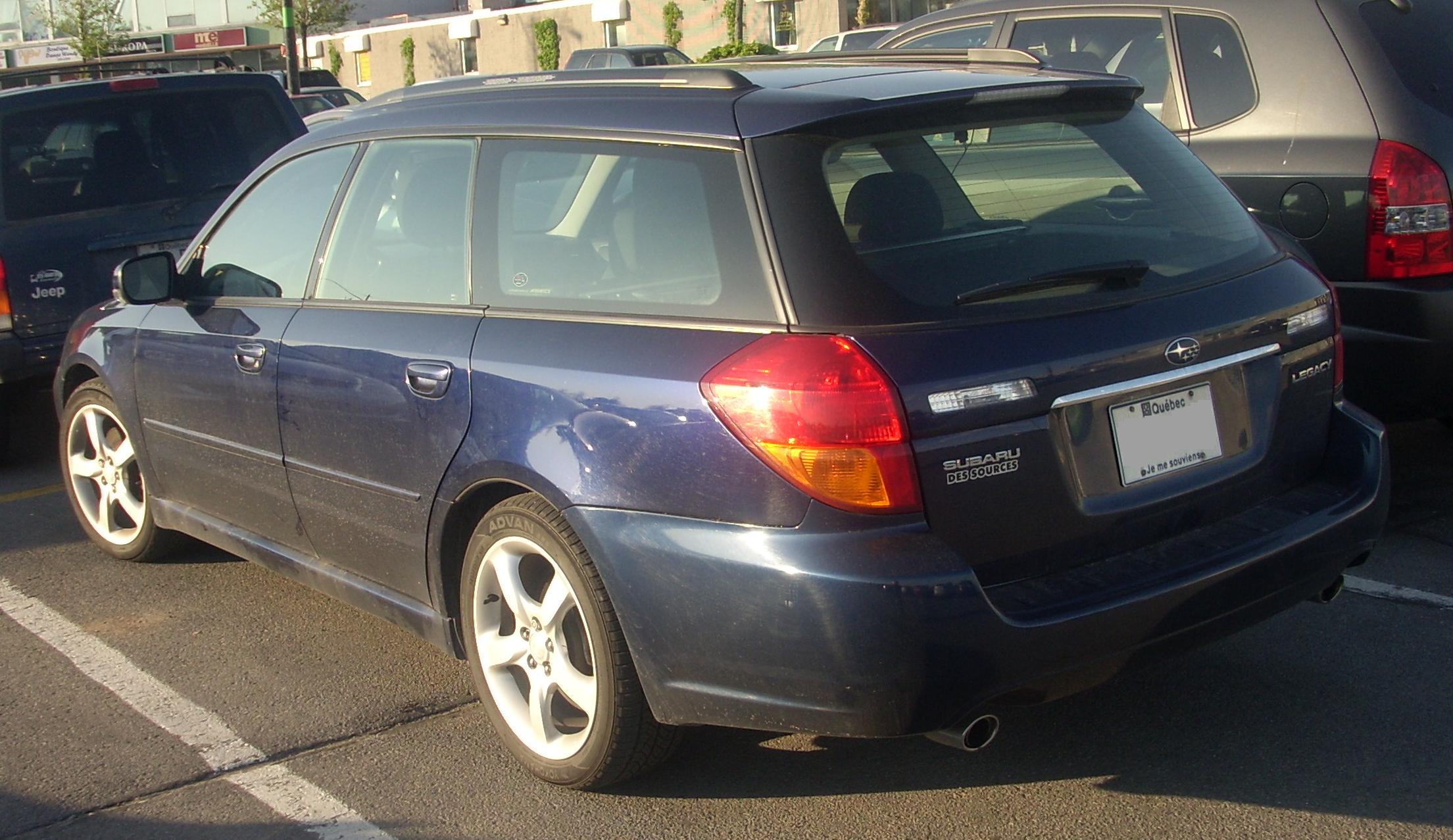 Subaru Des Sources >> File 05 07 Subaru Legacy Wagon Jpg Wikimedia Commons