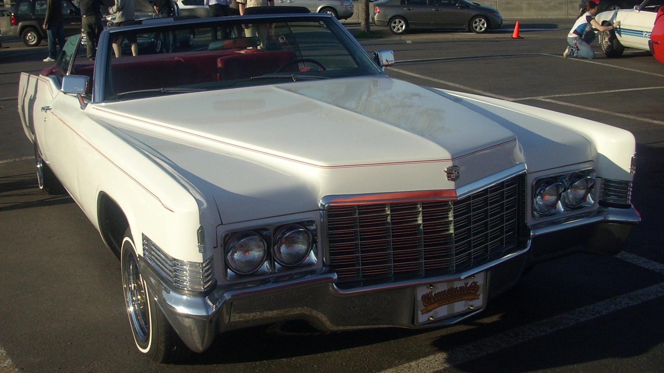 70 Cadillac Convertible http://commons.wikimedia.org/wiki/File:%2770_Cadillac_Convertible_(Orange_Julep_%2708).jpg
