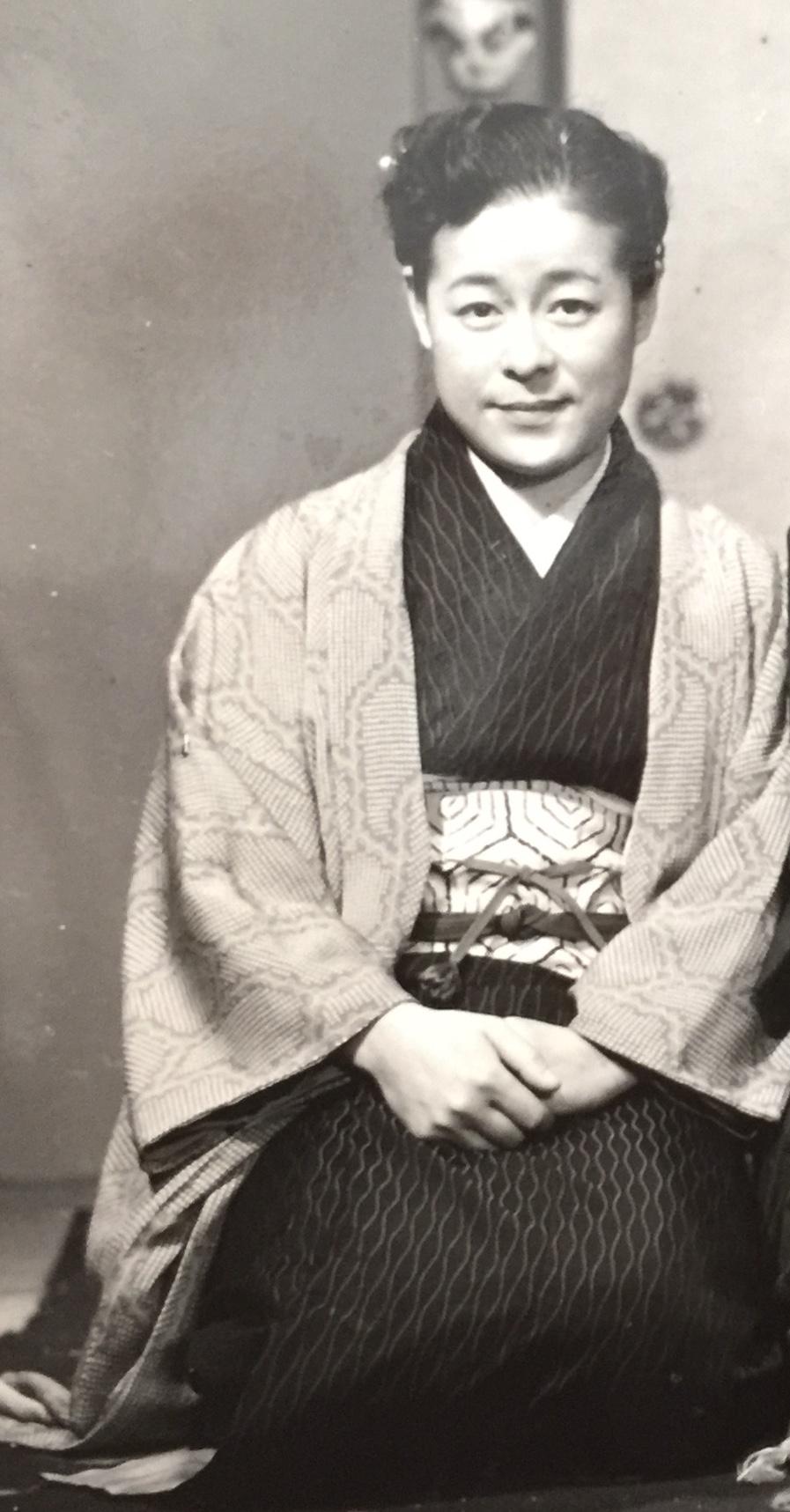 Noriko Sengoku in 1956.