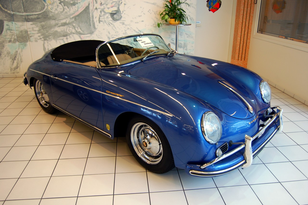 File 1957 Porsche 356 Speedster At Auto Salon Singen Jpg