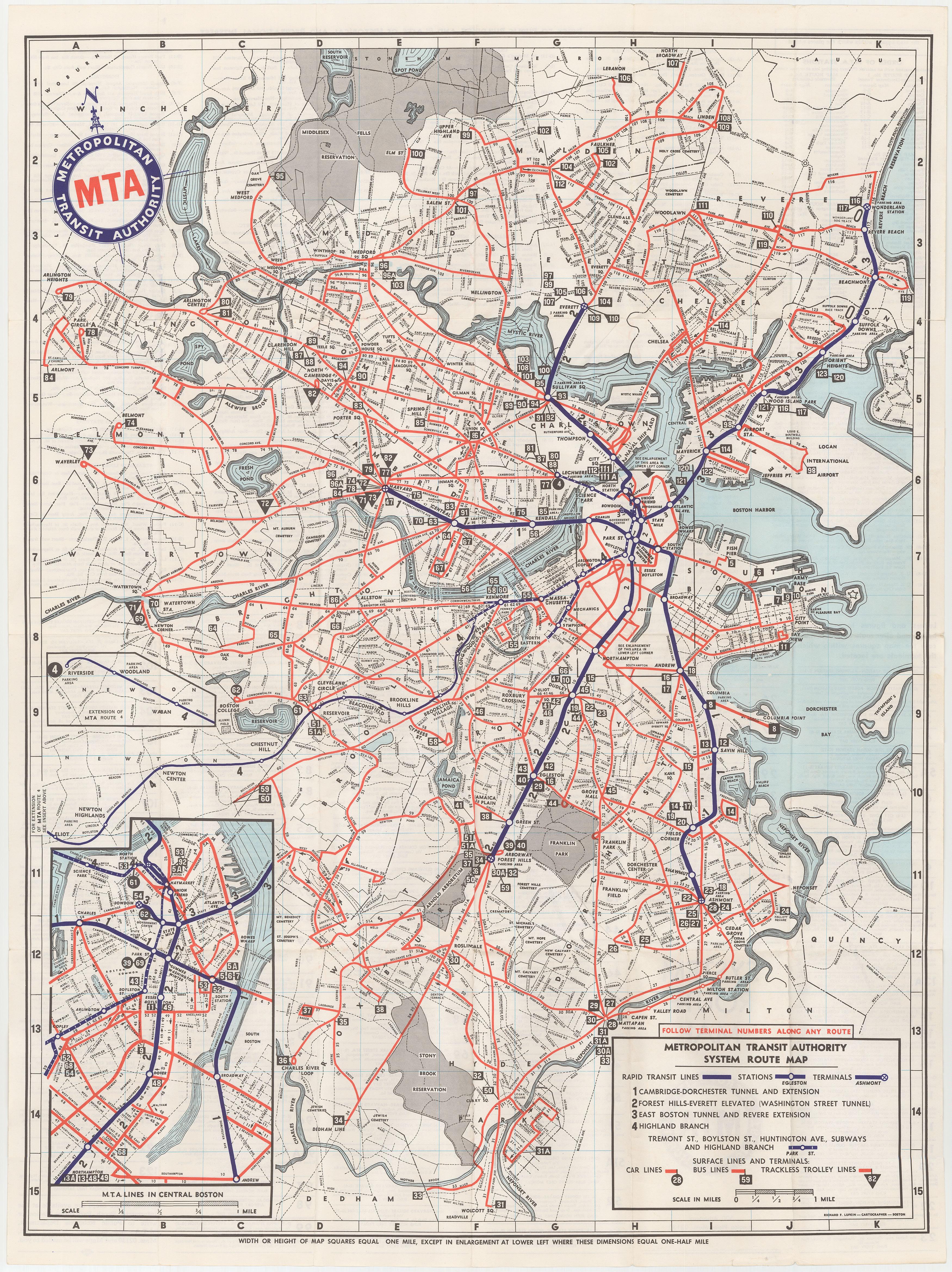 Boston Mta Map File:1964 M.T.A. Boston map.png   Wikimedia Commons