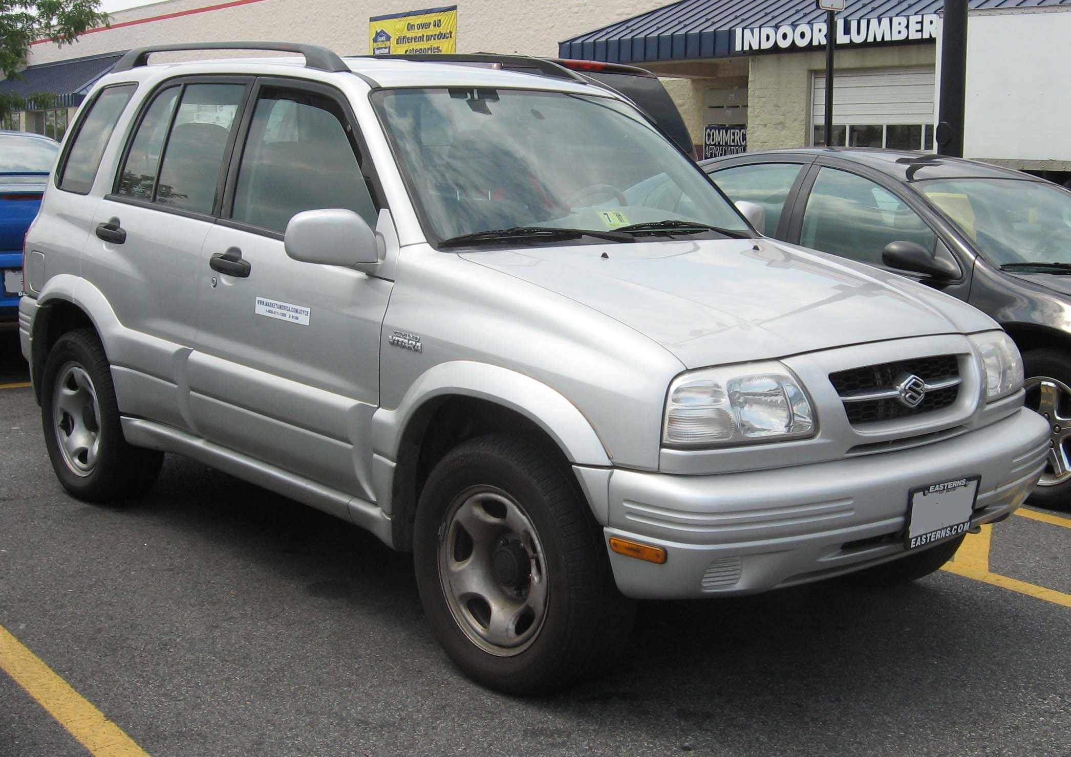 File:1999-01 Suzuki Grand Vitara.jpg - Wikimedia Commons
