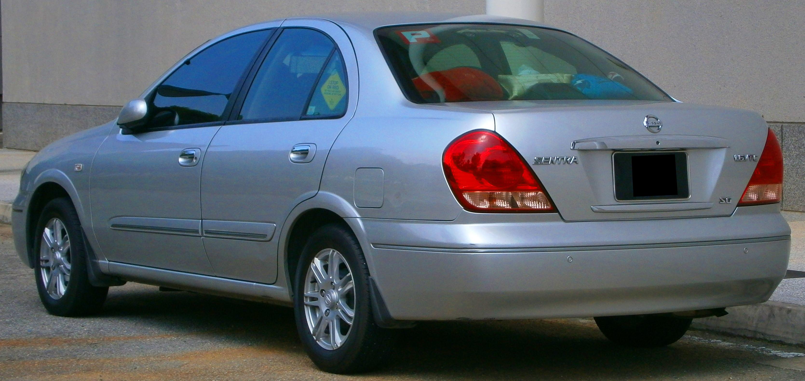 File:2004 Nissan Sentra N16 SG in Cyberjaya, Malaysia (02 ...