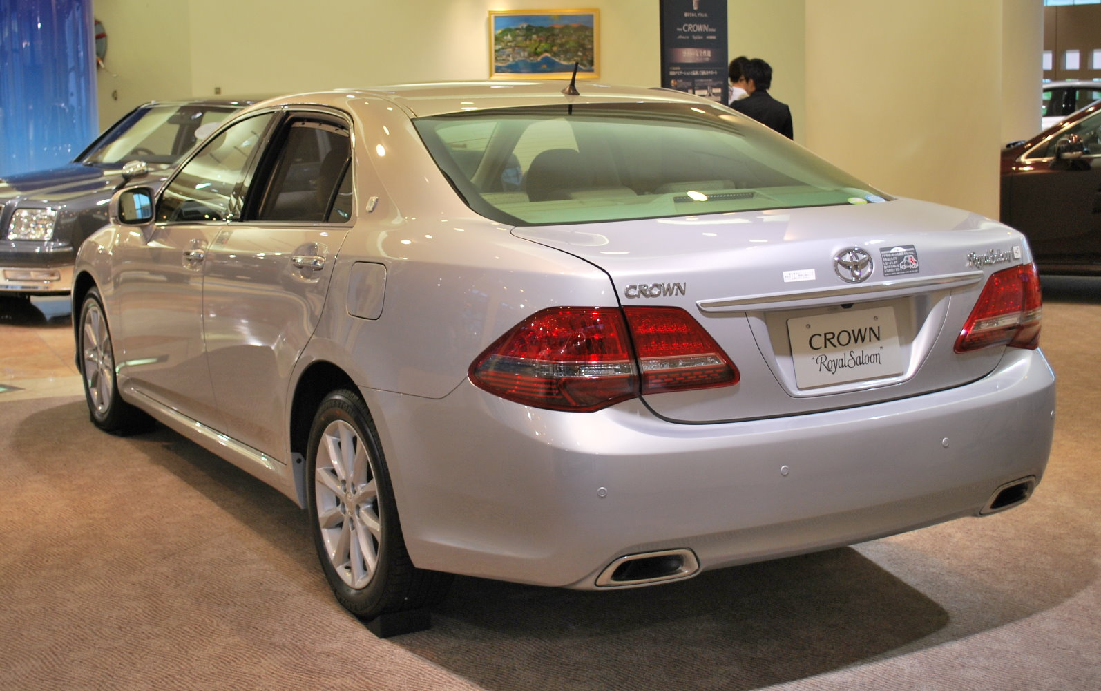 Toyota Crown back pic