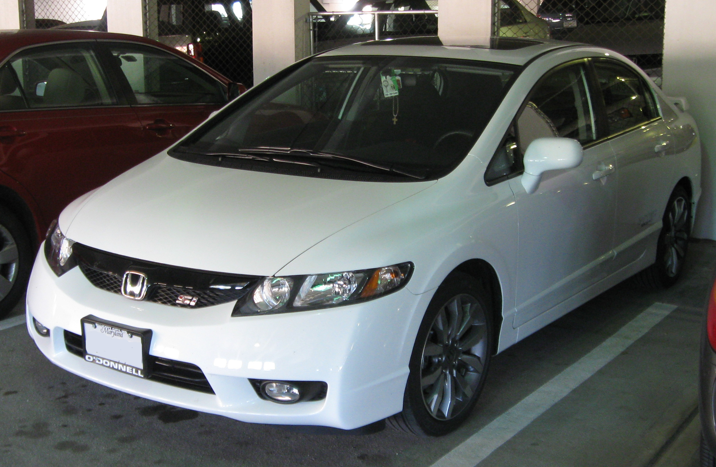 file 2009 honda civic si sedan 10 05 wikipedia. Black Bedroom Furniture Sets. Home Design Ideas