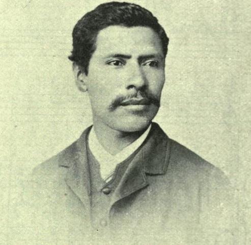 Maestro Rafael Álvarez Ovalle en 1897. Fotografía de La Ilustración Guatemalteca