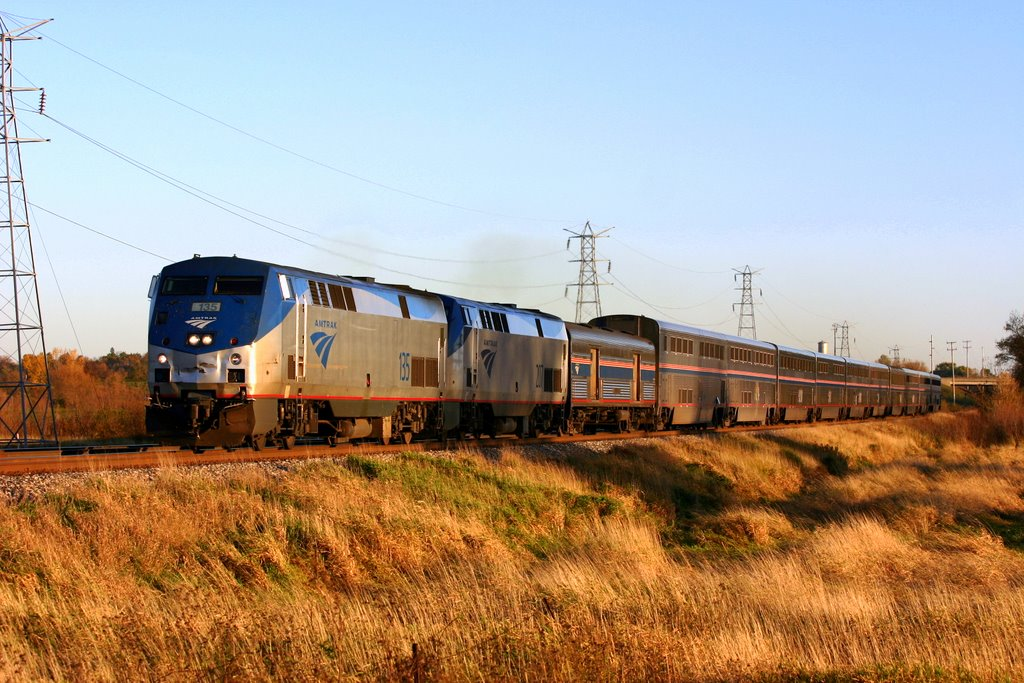 Empire Builder Train Usa