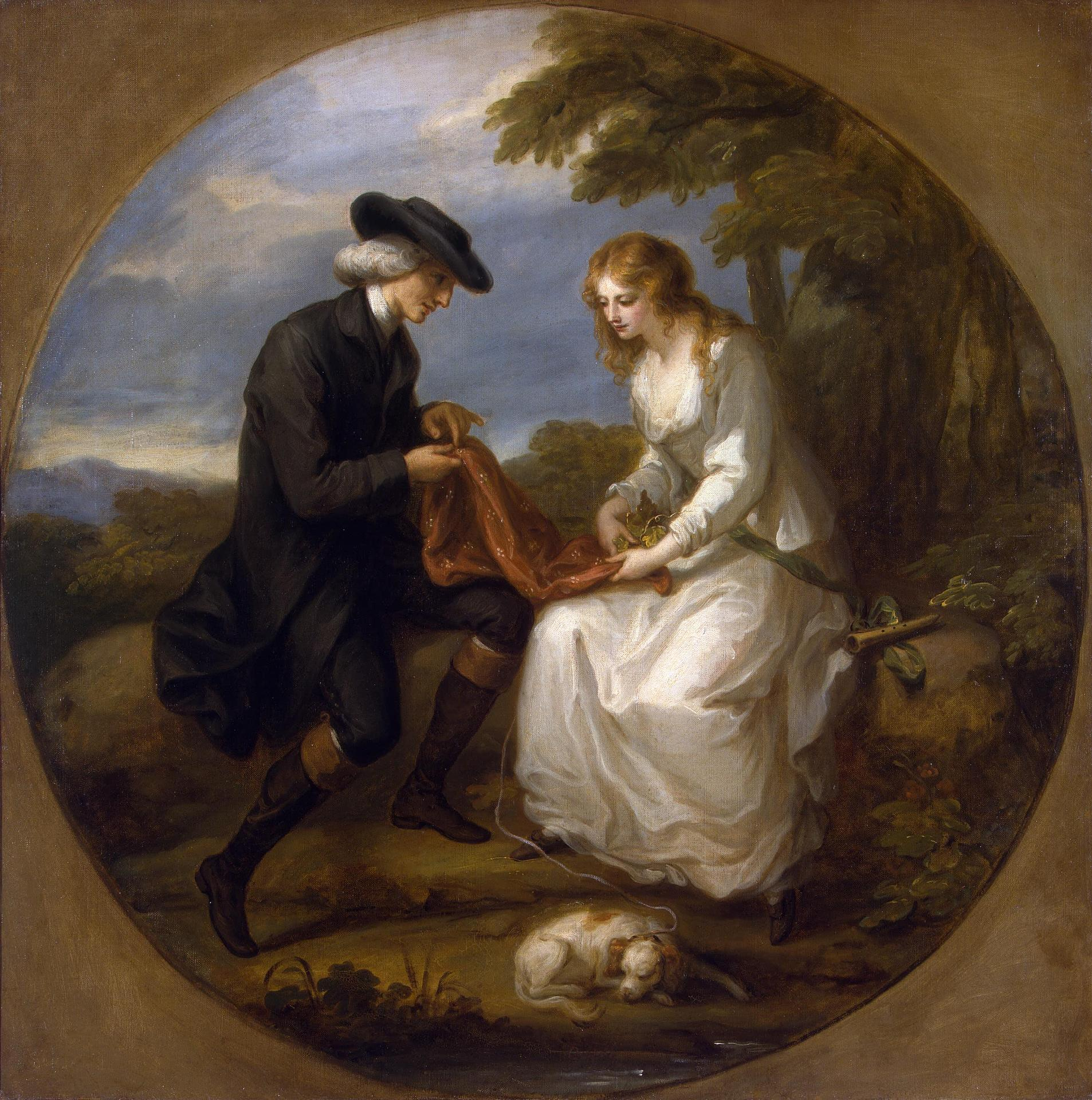 Angelica Kauffmann S Paintings Such As Cornelia
