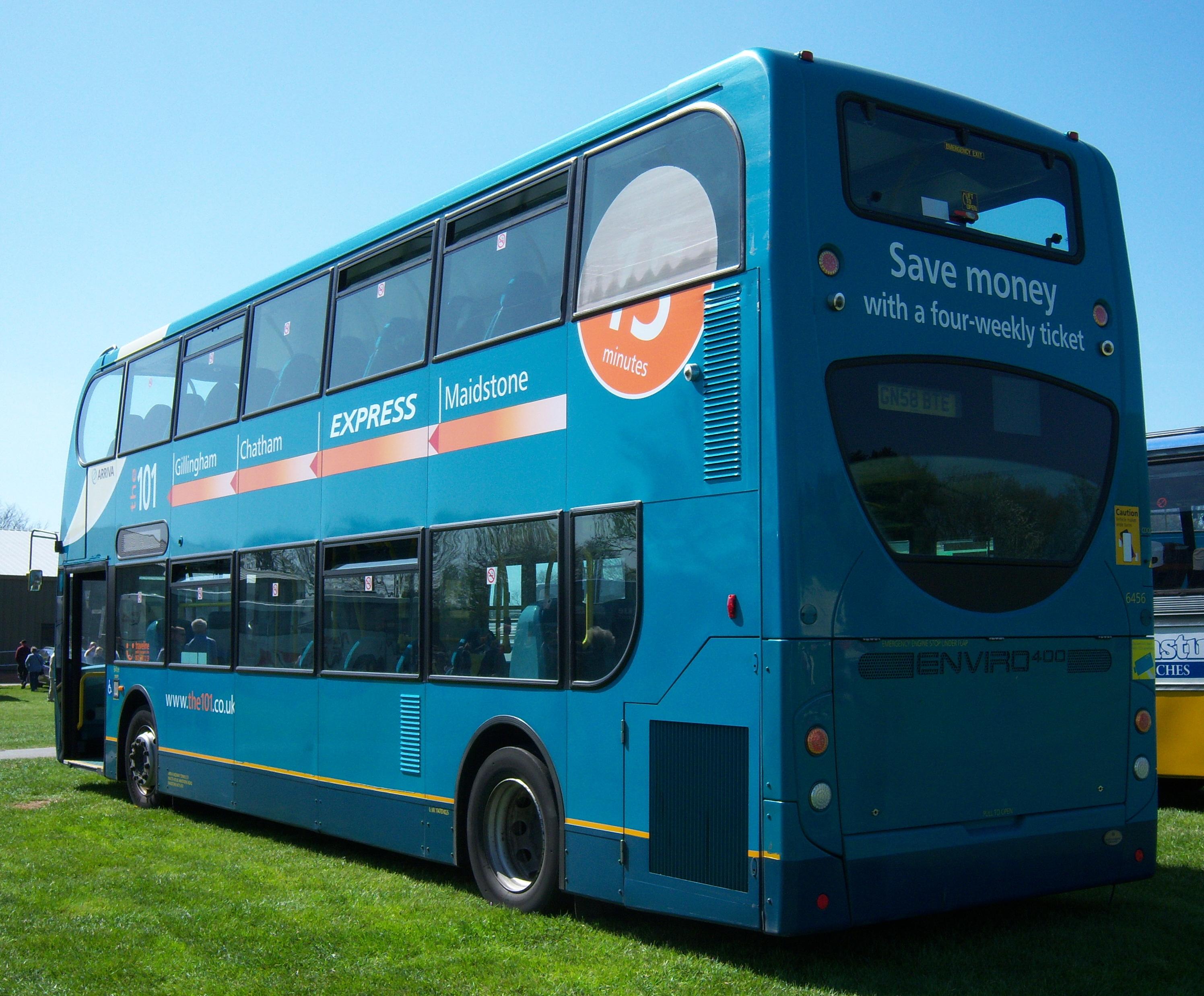 File:Arriva Medway Towns bus 6456 (GN58 BTE), M&D 100 (3