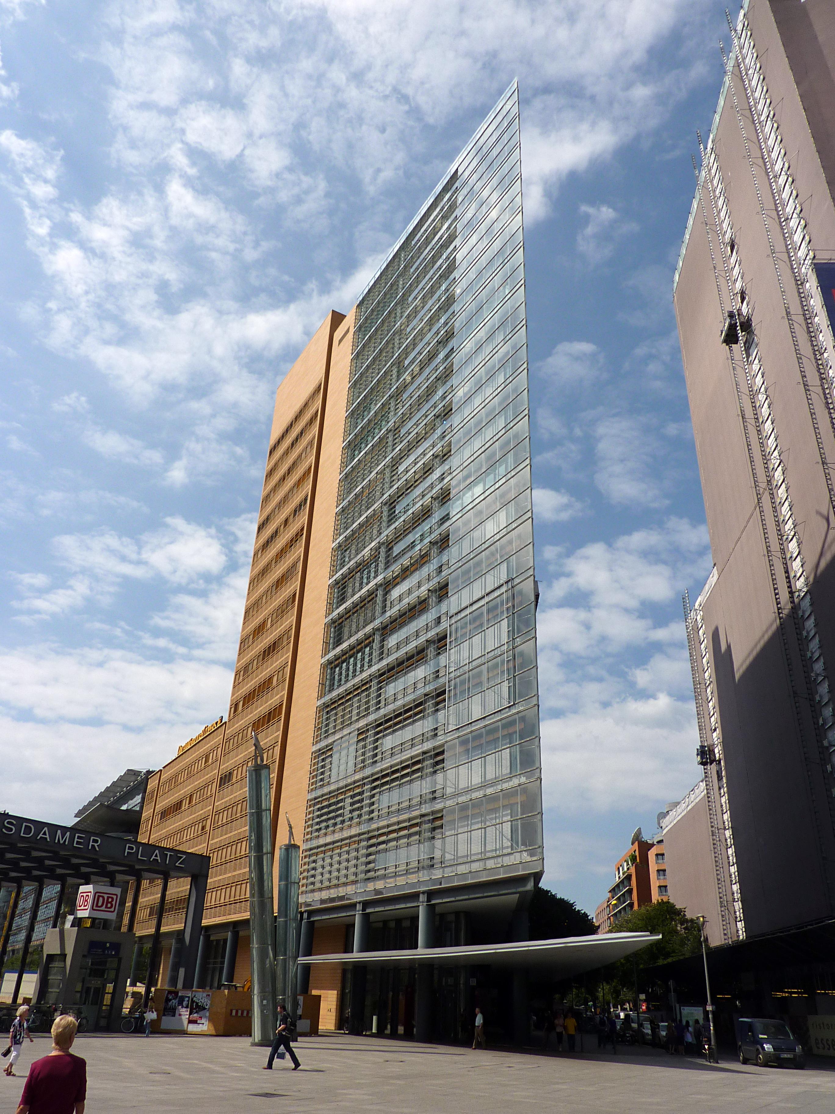 Tower  B Ef Bf Bdrohochhaus Mit Hotel Frankfurt Am Main Deutschland Wettbeber
