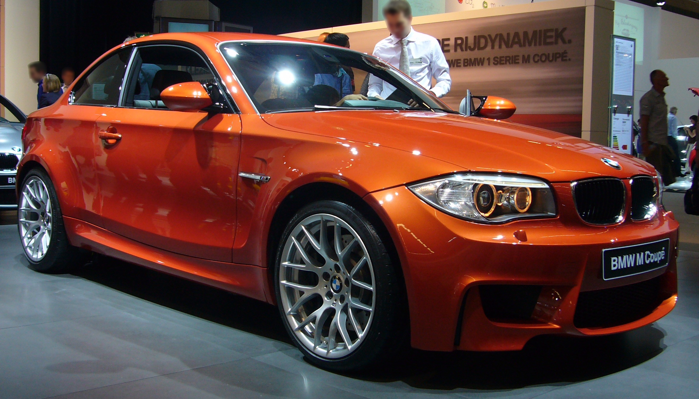 File:BMW 1 Series M Coupe (front quarter).jpg - Wikimedia Commons
