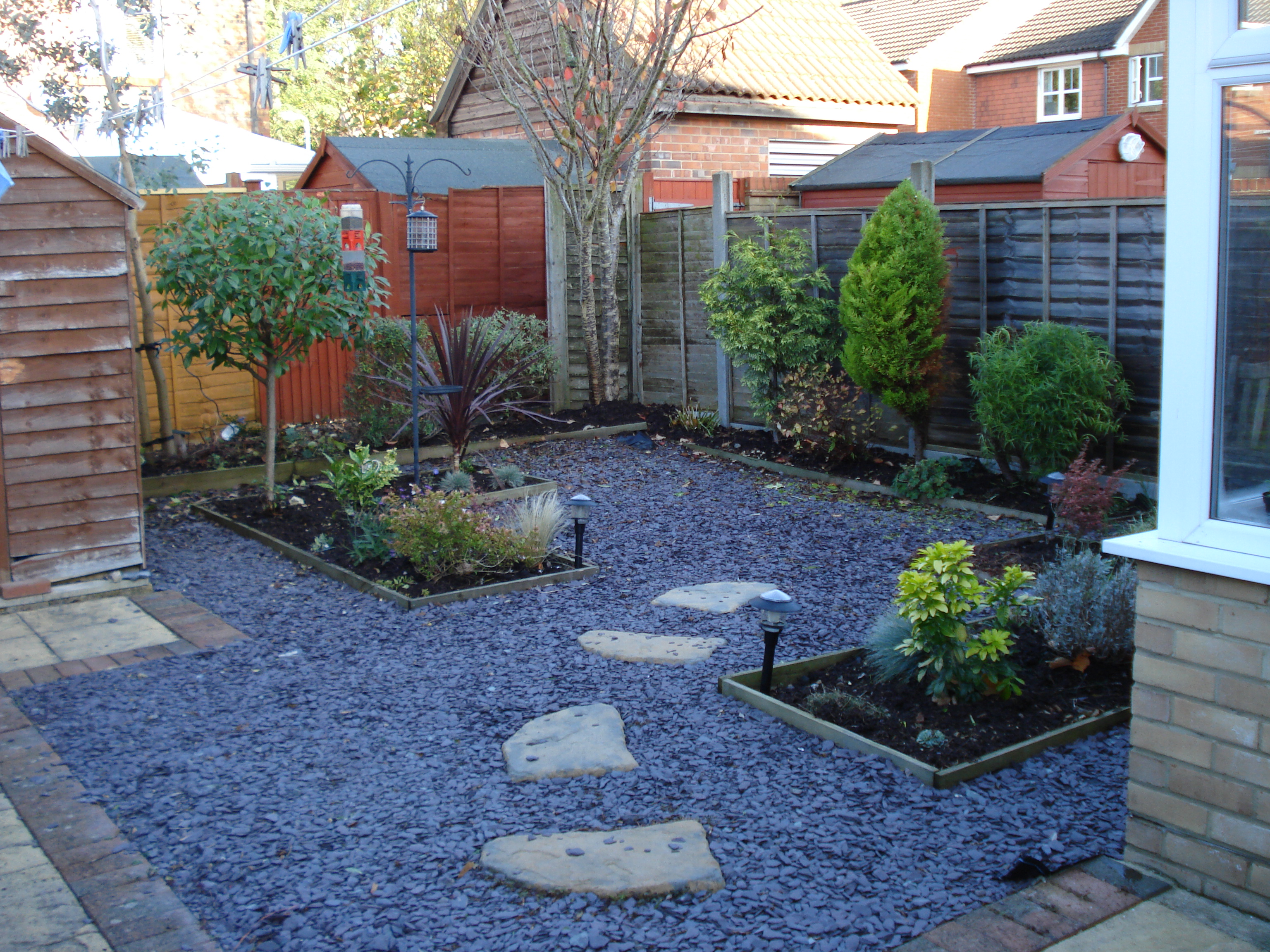 Back garden designs for Landscaped back gardens