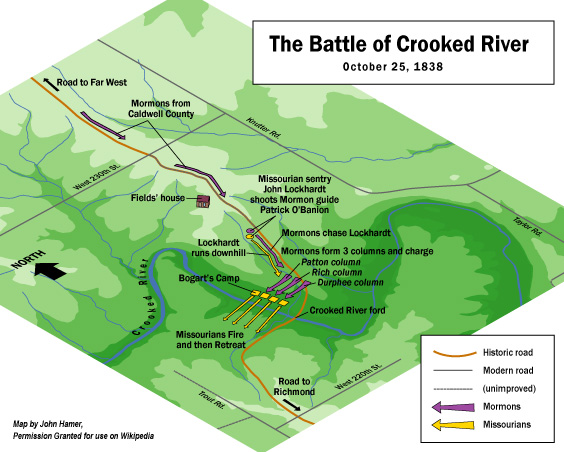 Image result for the battle of crooked river