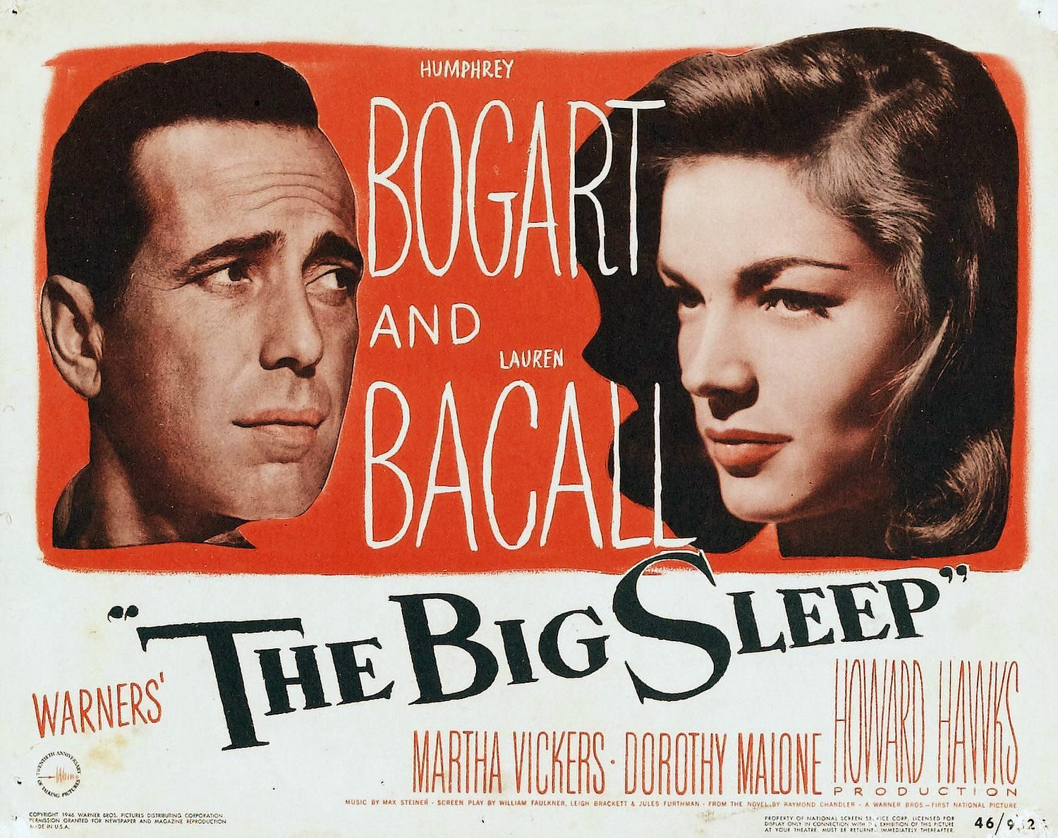 Image result for images of the big sleep 1946