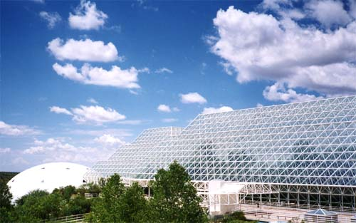 Exterior view of Biosphere 2