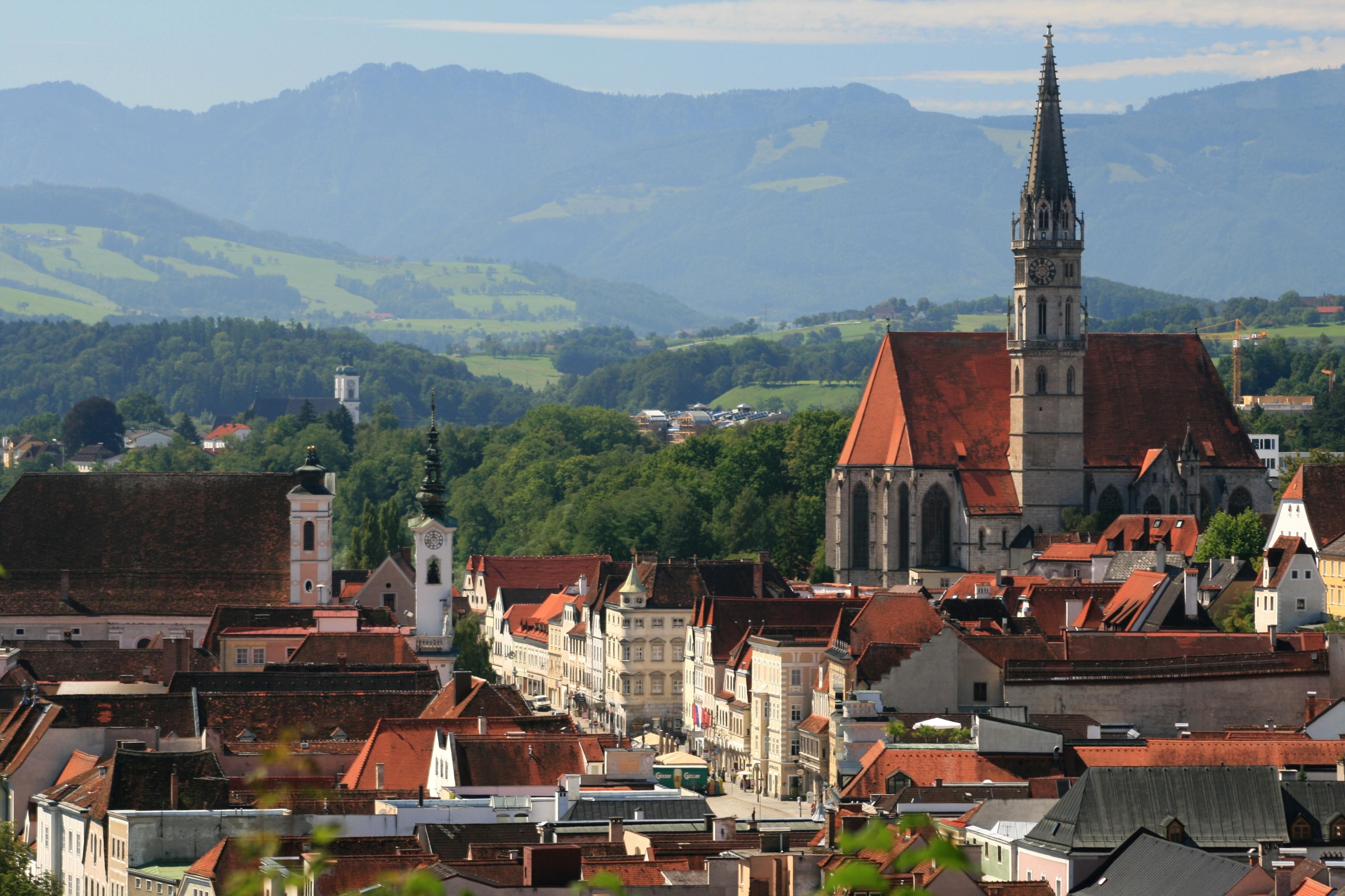Steyr, en Austria, donde vivía la escritora Marlen Haushofer.