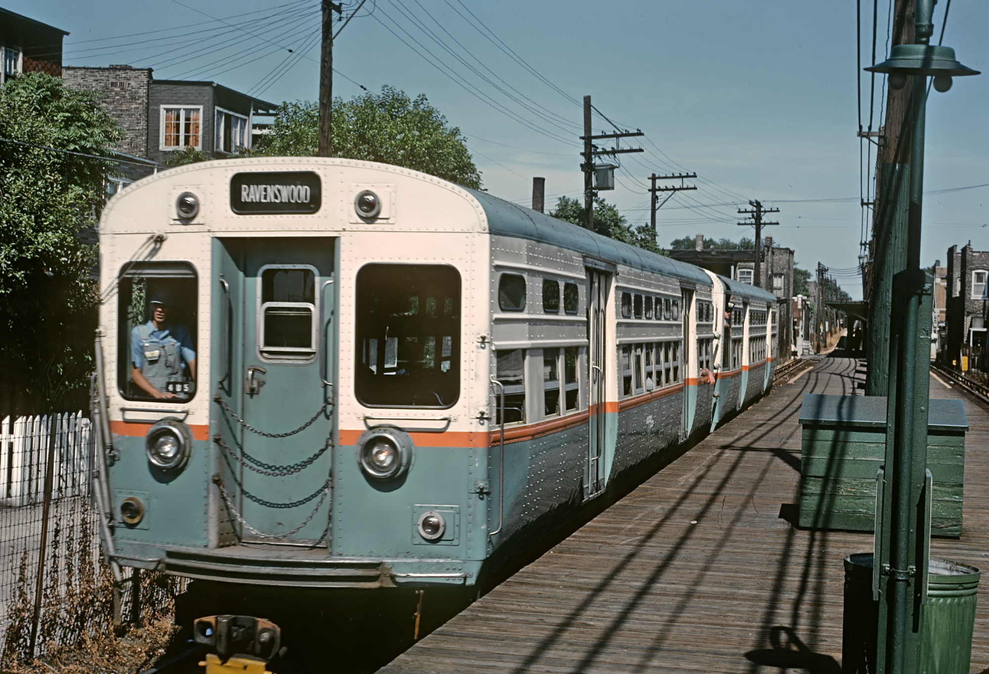 File Cta 6000s Ravenswood Train July 1965 25874846705