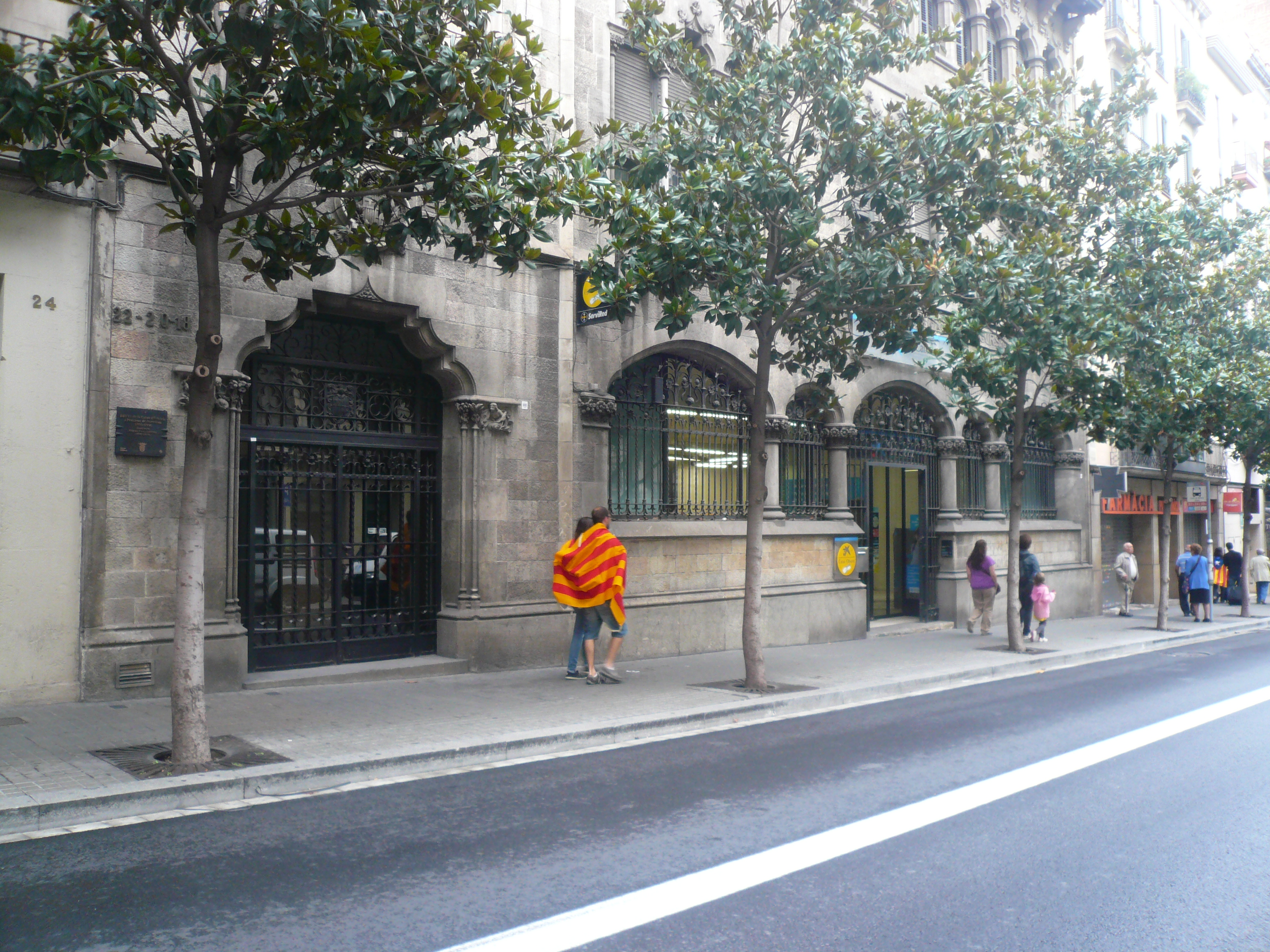 File Caixa De Barcelona - Via Catalana