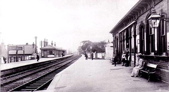 Camp Hill Railway Station