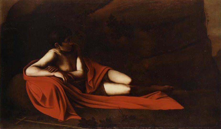 File:Caravaggio-Baptist-reclining.jpg