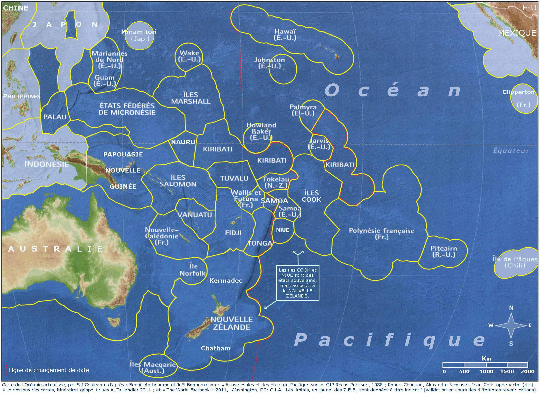 Carte Australie Pacifique.Fichier Carte De La Communaute Du Pacifique Zee Bleu Sombre